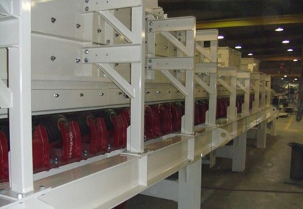 Rail Receiving Belt Feeder
